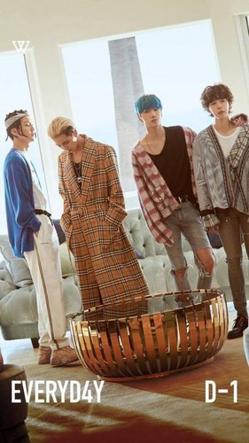 korea korean kpop idol winner winner's everyday fashion song mino minho burberry coat guys men outfit looks kpopstuff