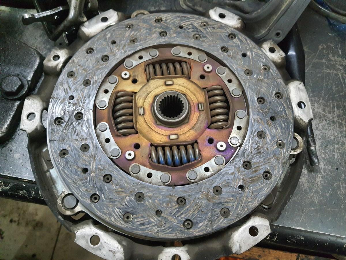 Б/у диск сцепления Mitsubishi L200