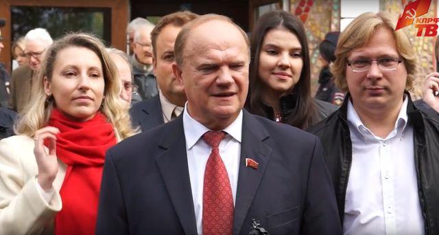 Г.А. Зюганов: Без смены курса страну не сохранить!