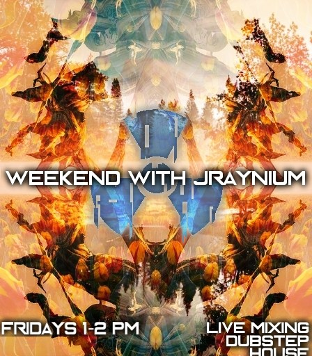 Weekend with Jraynium 11/16 flyer