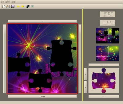 KPuzzle screenshot