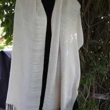 shawl white 17.77