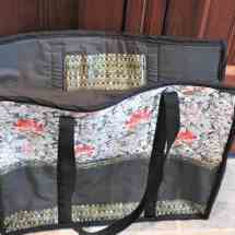 bag quilted green 17.74