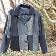 jacket pieced blacks 19.58a