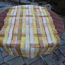 rag rug yellow 14.66,69