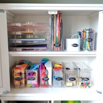 Art Supplies Cabinet