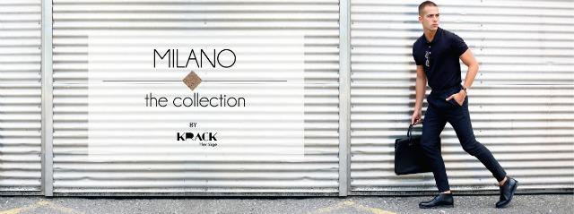 look de hombre total black de krack milano collection