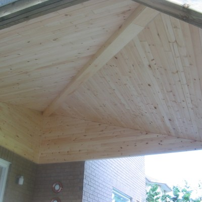 Ext T&G V-joint knotty pine