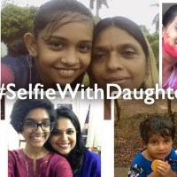 Sexist ya feminist? Whose selfie is it anyway? #SelfieWithDaughter
