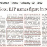 1984 Sikh riots: BJP, RSS  names figure in records