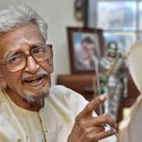 V. Kalyanam, Mahatma Gandhi's last personal secretary shares Gandhi story, by his shadow