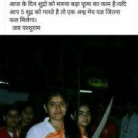 Durga Vahini member claims that killing #Shudras (any SC/ST/OBC) is a virtuous duty #WTFnews