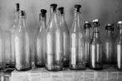 Hvor skal vi stille de tomme flasker?