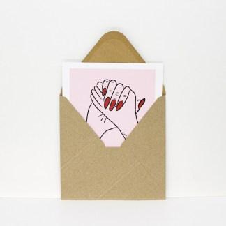 Kvadratiske Postkort