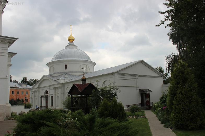 Церковь Покрова Пресвятой Богородицы. Казанский монастырь, г.Ярославль