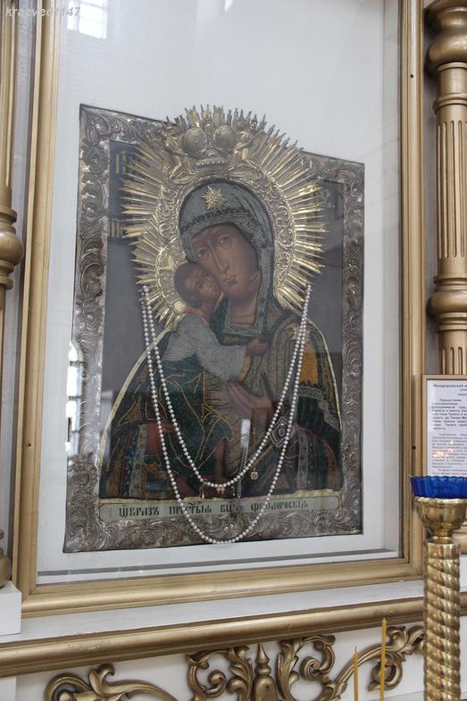 Чудотворный образ Фёдоровской Божией матери. Казанский собор Казанского женского монастыря г.Ярославль