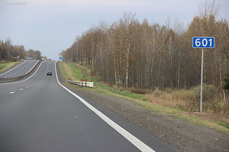 М-1. 600-ый км (от Бреста)