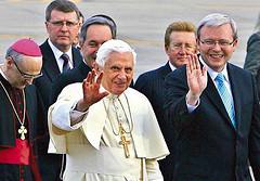 Pope Benedict XVI visits Australia for WYD 2008