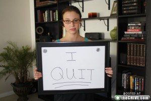 amazing girl quits 1 Girl quits her job on dry erase board, emails entire office (33 Photos)