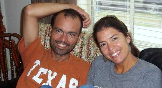 Ruben and Jen Garza