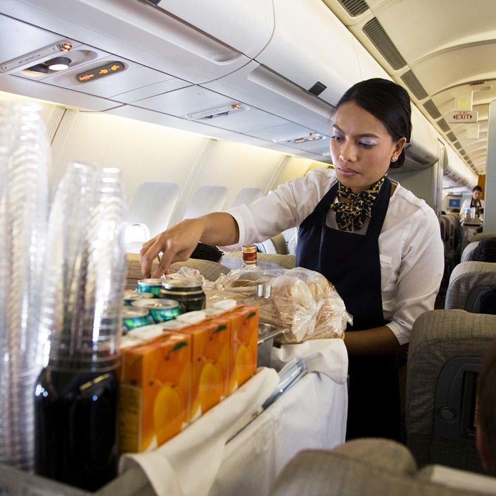 No more coffee in flight?