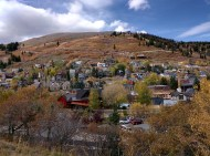 Looking down to old Park City.