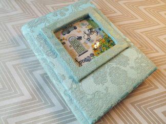 jurnal handmade, shaker box, jurnal handmade iasi, jurnal unicat spring