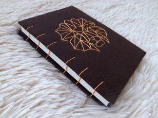 jurnal handmade coptic, jurnale unicat, jurnal leu, jurnal handmade a6