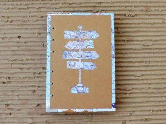 Album de calatorie din hartie manuala