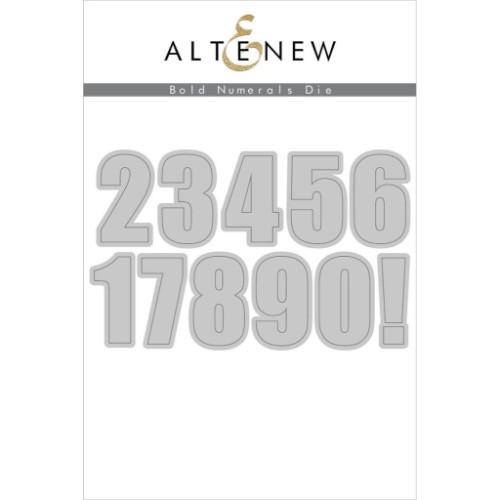 Altenew Bold Numerals Die