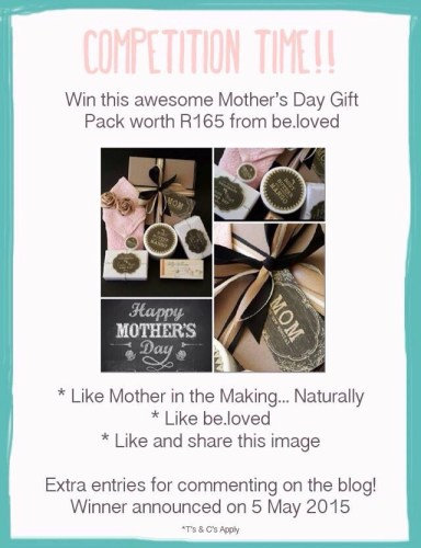 Competition Time!!! Win A Mother's Day Gift Pack from be.loved!