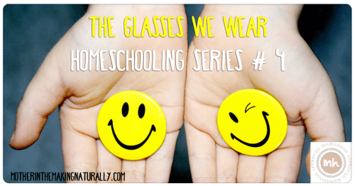Homeschooling Series #4: The Glasses we Wear
