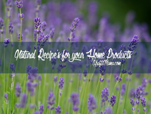 Natural Recipes for your home products: Update
