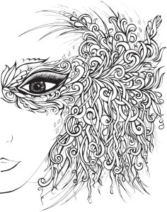 Advanced Adult Coloring Pages