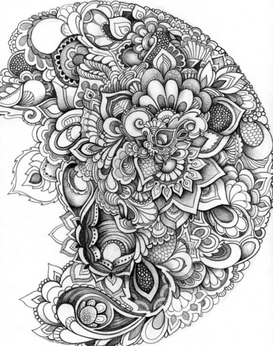 10 Free Adult coloring pages!
