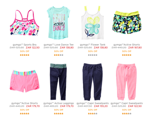 Shop Online Gymboree South Africa