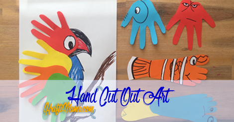 Fun With Hand Cut Outs Paper Art