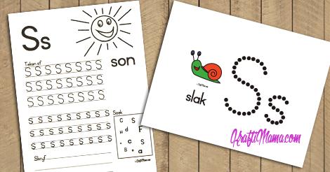 S Werksblaaie Son en Slak- Hersiende Font