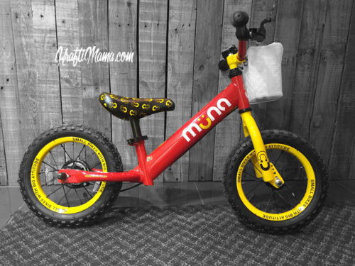 Muna Balance Bikes Review, KraftiMama