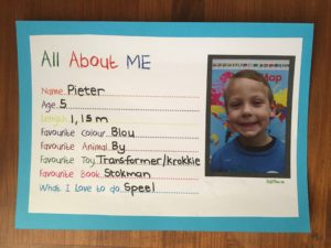 All about me, KraftiMama free printables