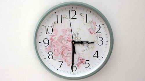 Floral Clock DIY