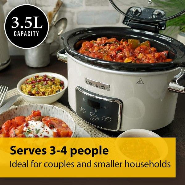 Crock-Pot Lift&Serve 3.5 L Digital Slow Cooker lēnvāres katls 2