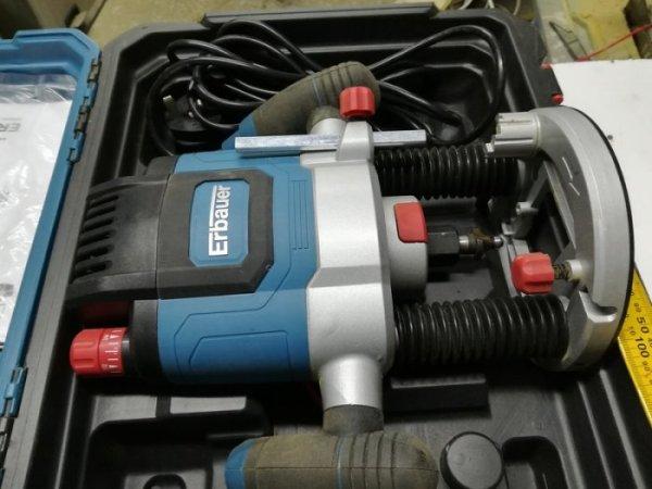 ERBAUER ER2100 2100W elektriskā frēze. 2