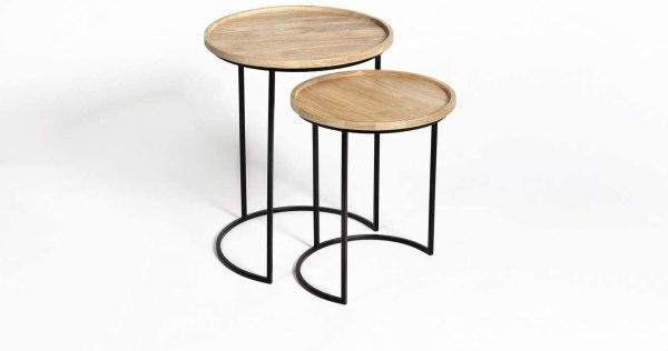 LIFA LIVING Vintage kafijas galdiņi 1