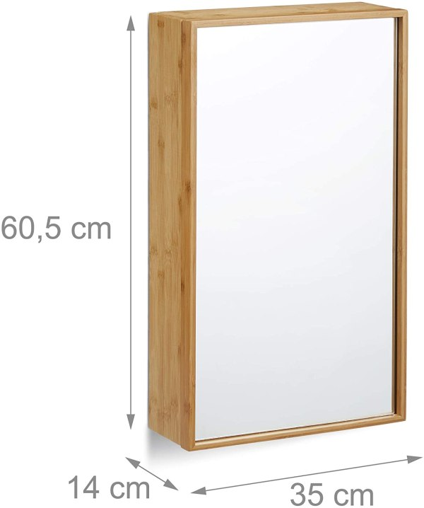 RELAXDAYS 10021882 spoguļskapis 5