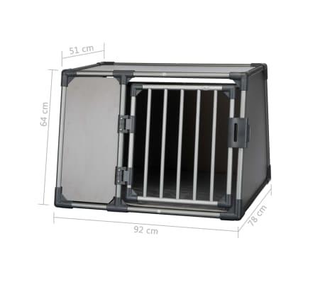 TRIXIE L 39338 suņu transportēšanas kaste 2