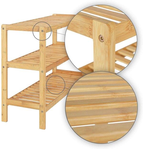 DIBEA bambussa apavu plaukts 3