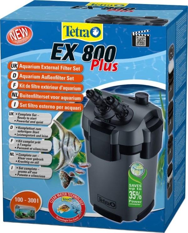 Tetra EX800 Plus ārējais akvāriju filtrs 1