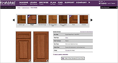 Order Your Space Kraftmaid Cabinetry Kitchen Design Process