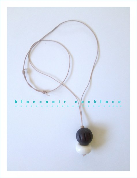 Blancnoir necklace